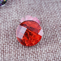 18MM Round snap Alloy red resin KB2230 interchangeable snaps jewelry