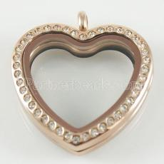 Heart Stainless steel floating charm locket
