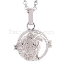 Angel Caller constellation ZODIAC-Aries Necklace fit 16mm balls exclude ball AC3777S