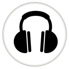 20MM Painted Music Emaille Metall C5756 Druck schnappt Schmuck