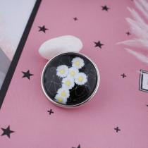 20MM Snap Glass Cross C0894 Snaps interchangeables bijoux