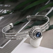 12MM design snap sliver plated with Dark blue Rhinestone and Enamel KS6269-S interchangeable snaps jewelry