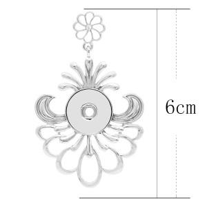 Colgante de collar sin cadena KC0459 encaje de broches estilo 18 / 20mm joyería de broches