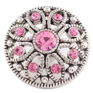 20MM snap Oct. birthstone pink KC5054 broches intercambiables joyería