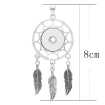 Pendant of necklace without chain KC0458 fit snaps style 18/20mm snaps jewelry