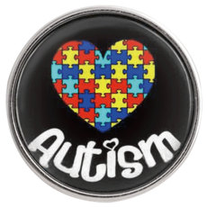 20MM snap glass Awareness Autism C1026 interchangeable snaps jewelry