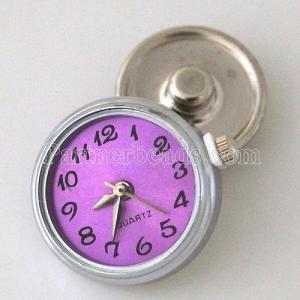 ajusta trozos de reloj púrpura