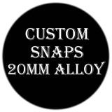 MOQ 200pcs / design Nuevo botón de ajuste de metal 20MM personalizado Póngase en contacto con nosotros partnerbeads@gmail.com si desea personalizar