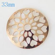 33 mm Alloy Coin fit Medaillon Schmuck Typ001