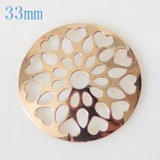 33 mm Alloy Coin fit Medaillon Schmuck Typ001