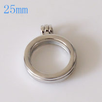 25MM Alloy coin locket pendant
