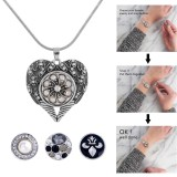 Pendentif de coupe ajustement s'encliquette bijoux de morceaux de style