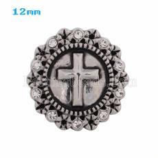 20MM snap cross KS5002-S interchangable snaps jewelry
