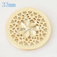 33 mm Alloy Coin fit Medaillon Schmuck Typ017