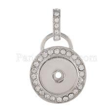 Подвеска из ожерелья с защелками в стиле кулонов 18mm / 20mm