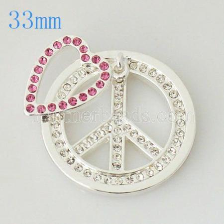 33 mm Alloy Coin fit Locket jewelry type007