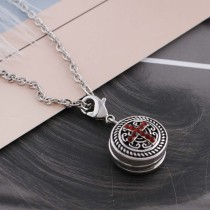 12MM cross snap sliver plated with red Rhinestone and Enamel KS6247-S interchangeable snaps jewelry