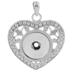 Colgante de collar en forma de broches de joyería de trozos de estilo