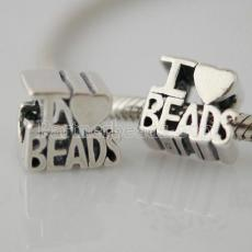 partner antique sterling silver beads-I love beads