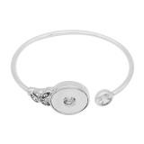 Boutons 1 encliqueter le bracelet de ruban pour 20MM s'enclenche bijoux KC0865