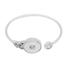 1 buttons snap sliver bracelet fit 20MM snaps jewelry KC0865