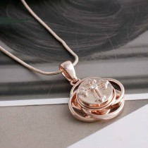 12MM cross snap Rose Gold Plated with white Rhinestone KS5212-S interchangeable snaps jewelry