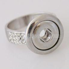 #7 защелкивающиеся металлические Кольца подходят мини 12mm защелки размер 17.5mm