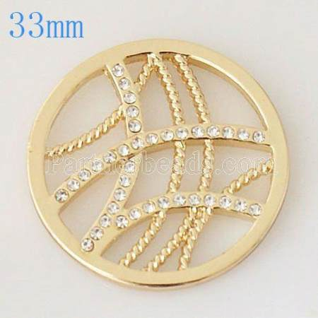 33 mm Alloy Coin fit Locket jewelry type018