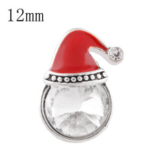 12mm Christmas Small size snaps for chunks jewelry