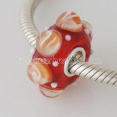 partner S925 murano lampwork glass beads mother