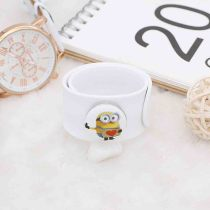 20MM Painted Minions enamel metal C5732 print snaps jewelry