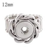 12MM snaps adjustable Ring KS1124-S snaps jewelry
