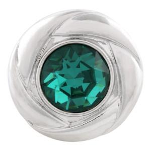 20MM оснастка декабрь родина камень голубой KC5685 сменные защелки ювелирные изделия