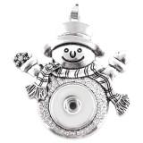 Pendentif de Noël de collier KC0353 ajustement s'enclenche style 18mm s'enclenche bijoux