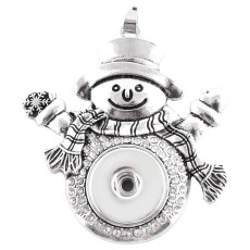 Christmas Pendant of necklace KC0353 fit snaps style 18mm snaps jewelry