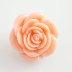 18MM Flower snap Alliage orange résine KB2271 interchangeable snaps bijoux