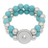 Boutons 1 Avec bouton-pression ajustable Bracelet en pierre naturelle ajustement s'emboite bijoux KC0857