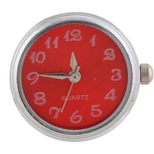 ajusta trozos de reloj rojo