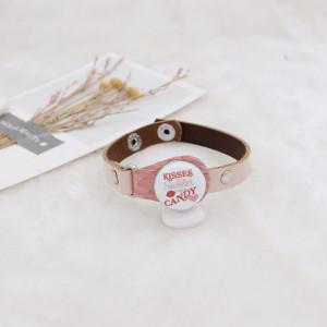 20MM Saint Valentin émail peint métal impression C5625 s'encliquette bijoux