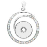 Pendant of necklace without chain KC0455 fit snaps style 18/20mm snaps jewelry