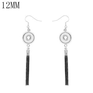 snap Earrings fit 12MM snaps style jewelry KS1266-S