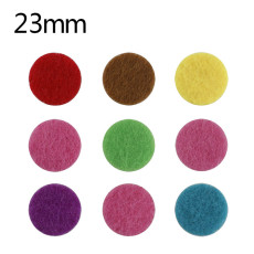 10 pcs of oil pad 23mm suitable for car aroma perfume clips MIX color random