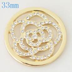 33 mm Alloy Coin fit Medaillon Schmuck Typ016