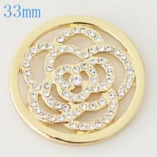 33 mm Alloy Coin fit Locket jewelry type016
