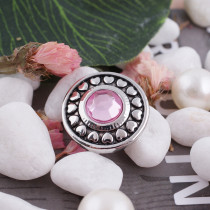 20MM snap Oct. birthstone pink KC5042 broches intercambiables joyería