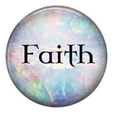 20MM faith C5130, métal émaillé peint, s'enclenche les bijoux