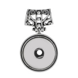 Pendant of necklace without chain snaps style fit 18&20mm chunks jewelry