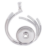 Pendentif de collier avec ajustement strass 18 / 20mm s'encliquette bijoux de style KC0364
