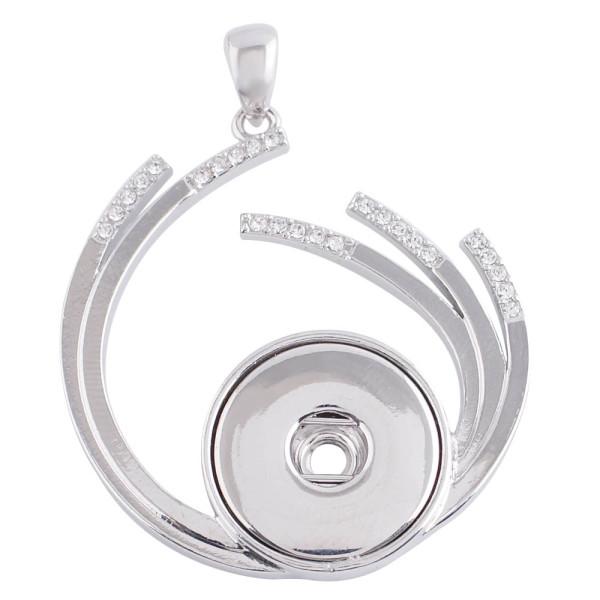 Anhänger der Halskette mit Strass passen 18 / 20mm Snaps Style Schmuck KC0364