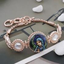 20MM femme métal émaillé peint impression C5115 s'encliquette bijoux